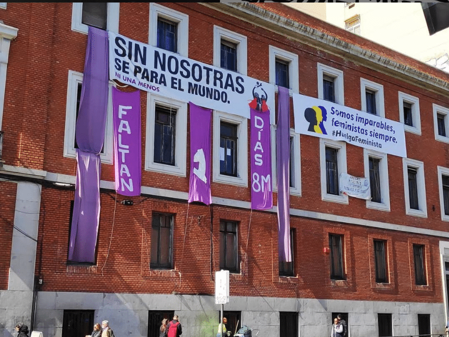 Fachada del centro social 'okupado' La Ingobernable.