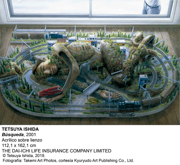 Exposición de Tetsuya Ishida 'Autorretrato de otro': Búsqueda.