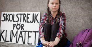 Greta Thunberg y el Movimiento Viernes por el Futuro.