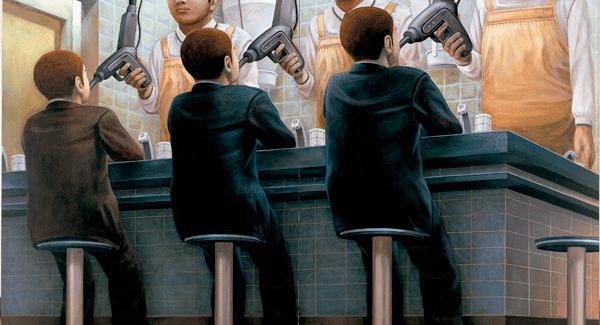 Exposición de Tetsuya Ishida 'Autorretrato de otro': Repostar comida.
