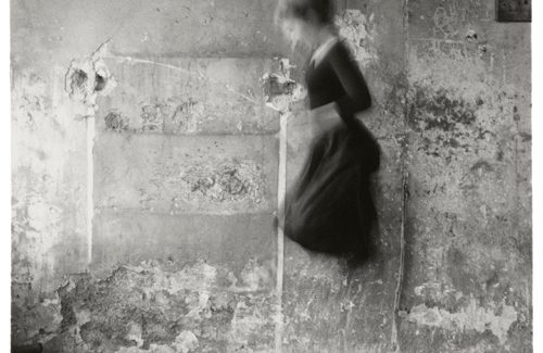 Exposición de fotografía 'Francesca Woodman. Ser un ángel/On being an angel', en la Fundación Canal de Madrid.