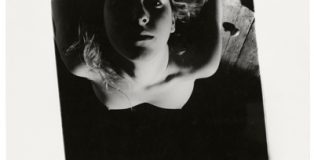 Exposición de fotografía de 'Francesca Woodman. Ser un ángel/On being an angel', en la Fundación Canal de Madrid.
