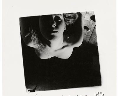 Exposición de fotografía de 'Francesca Woodman. Ser un ángel/On being an angel', en la Fundación Canal de Madrid