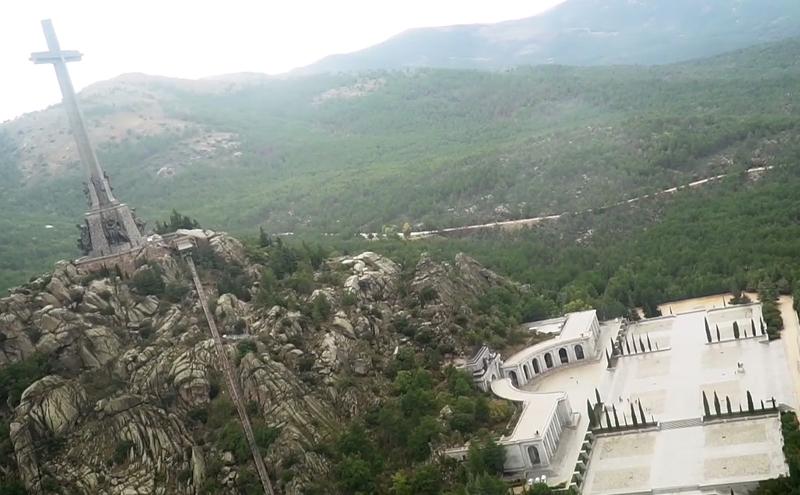 Mausoleo del Valle de los Caídos.