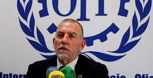 El director de la oficina de la Organización Internacional del Trabajo (OIT) para España, Joaquín Nieto.