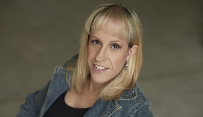 La escritora Yanina Rosenberg, autora de 'La piel intrusa'.