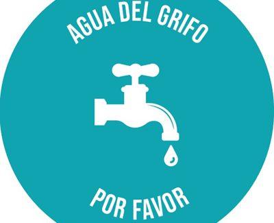Campaña para sensibilizar en el consumo del agua pública: 'Agua del grifo, por favor'