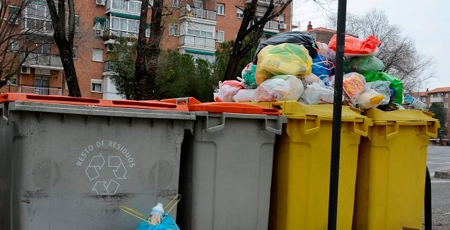 Madrid es la tercera capital europea que menos recicla