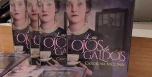En este año galdosiano, Carolina Molina publica Los ojos de Galdós.