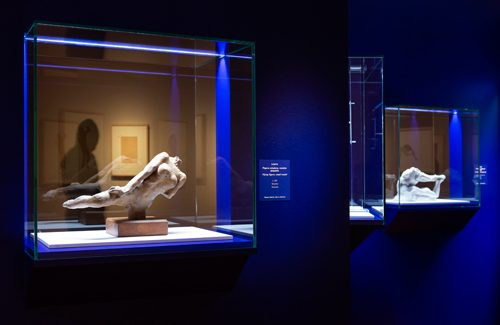 Exposición 'Rodin, dibujos y recortes', en la Fundación Canal