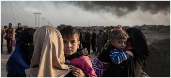 Refugiados climáticos y crisis ecosocial. Millones de personas han tenido que huir de sus casas