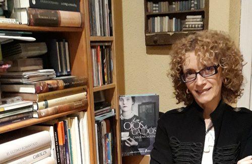 Carolina Molina publica 'Los ojos de Galdós', ficción y biografía para conocer al autor de los 'Episodios Nacionales'