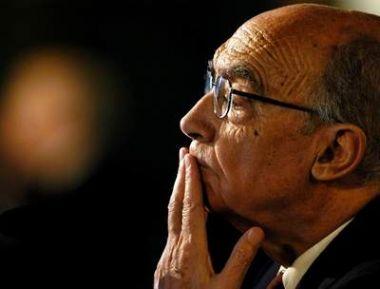 El escritor José Saramago.