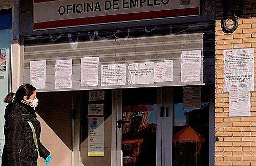 El desempleo sube en la Comunidad de Madrid un 5,85%, en el primer trimestre del año