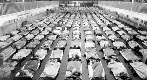 La gripe española y el ascenso del nazismo: tomen nota