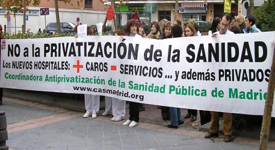 Privatización de la sanidad: de las causas o los síntomas