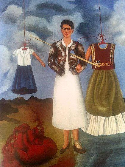 El corazón, cuadro de Frida Kahlo.