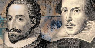 Una curiosa conversación entre Cervantes y Shakespeare en la novela El encuentro, de Jesús Ruiz Mantilla.