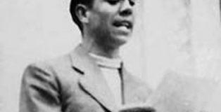 Homenaje al poeta Miguel Hernández en el Ateneo de Madrid.