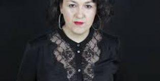 La escritora Tere Susmozas, autora de Estación intemperie.