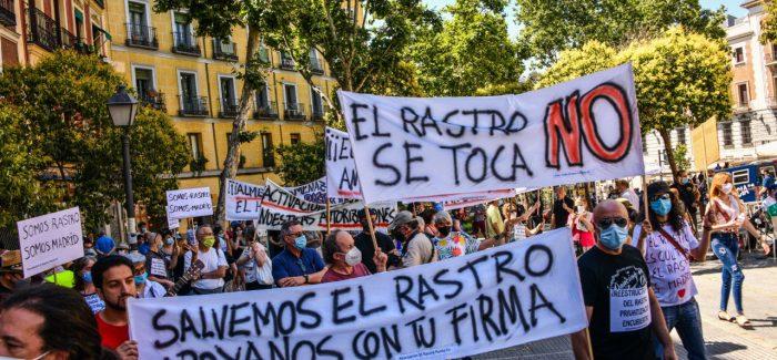Reapertura del Rastro madrileño