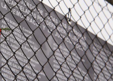 Reposición del memorial conmemorativo de Carabanchel, en recuerdo a los presos del franquismo