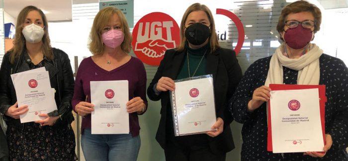 Un informe de UGT Madrid advierte del aumento de la brecha salarial a causa de la pandemia