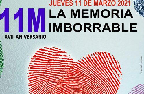 Varios actos de recuerdo de las asociaciones del 11M para este jueves en Madrid