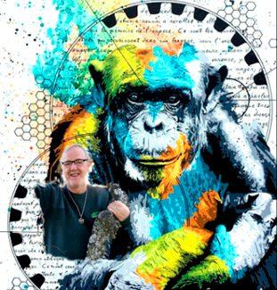 'Reflexiones de un simio', de Pedro Pozas, la dignidad de sentirse un primate