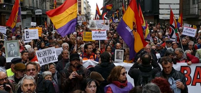 Por una Ley de Memoria Democrática que ponga fin a la impunidad del franquismo