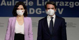 Aznar y Ayuso: dos falangistas mano a mano.