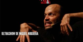 Miguel Noguera ha vuelto al Teatro del Barrio. Hoy domingo es su último día, por ahora...