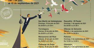 'Arte vivo en las villas' de la Comunidad de Madrid, los fines de semana del 18 de julio al 18 de septiembre.