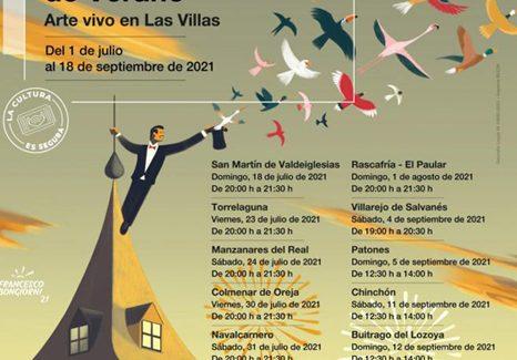 'Arte vivo en las villas' de Madrid, los fines de semana del 18 de julio al 18 de septiembre